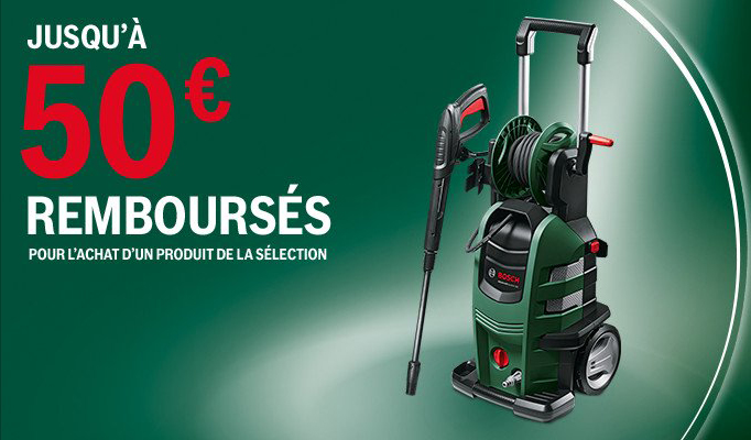 Promotion Bosch - Nettoyeur haute pression